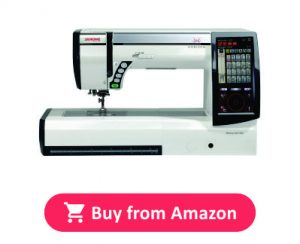 Janome Horizon Memory Embroidery and Sewing Machine 12000