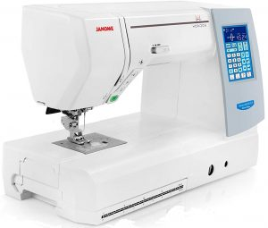 Best Commercial Embroidery Machine Janome 8200