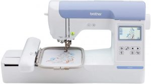 Brother PE800 Embroidery Machine, 138 Built-in Designs, 5 x 7 Hoop Area, Large 3.2 LCD