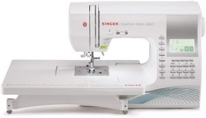 SINGER 9960 Quantum Stylist 9960 Computerized Portable Sewing Machine with 600-Stitches